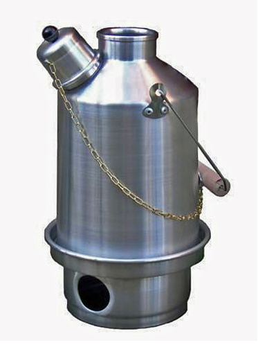 Ghillie Kettle 1 0 Litre Camping Cooker Wood Burning Stove