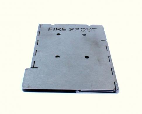 Mini Fire Spout Pocket Portable Wood Burning Camp Stove - Portable Wood Burning Stove Pocket Folding Camp Stove Mini Fire