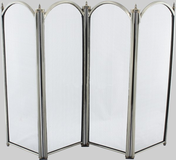 4 Fold Fire Screen Antique Various Sizes