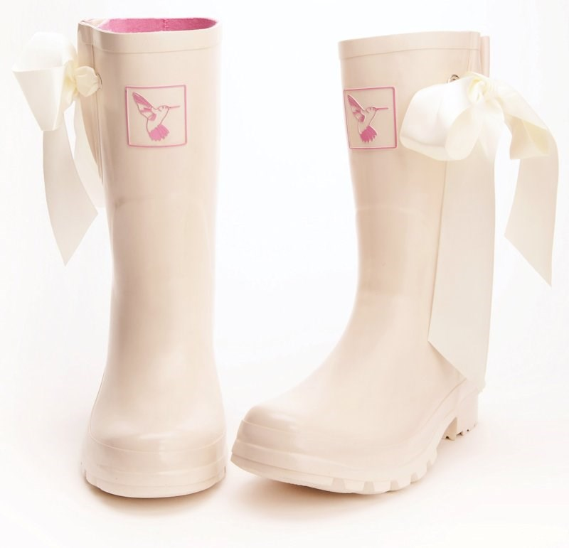 Evercreatures Wedding Wellies I Do Short Bridal Boots