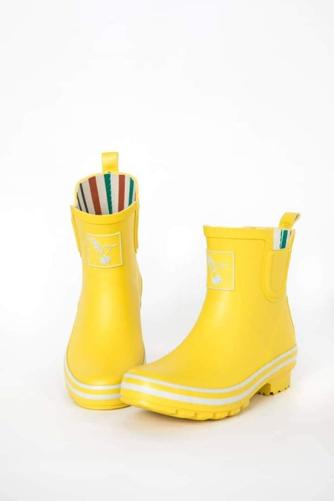 Yellow Evercreatures Ankle Wellies