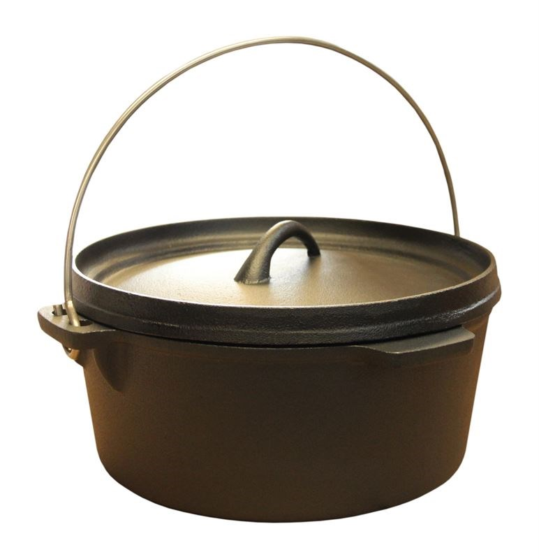 4 Litre Cast Iron Stew Pot