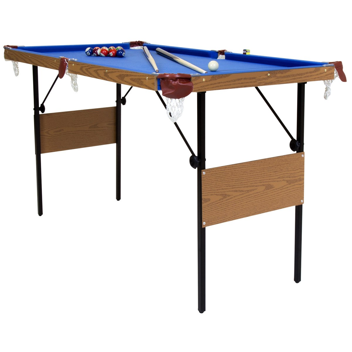 4ft 6 Folding Pool Table