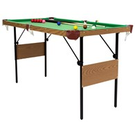 4ft 6 Snooker and Pool Table 2 in 1