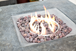 Contemporary Gas Firepit Table FREE COVER