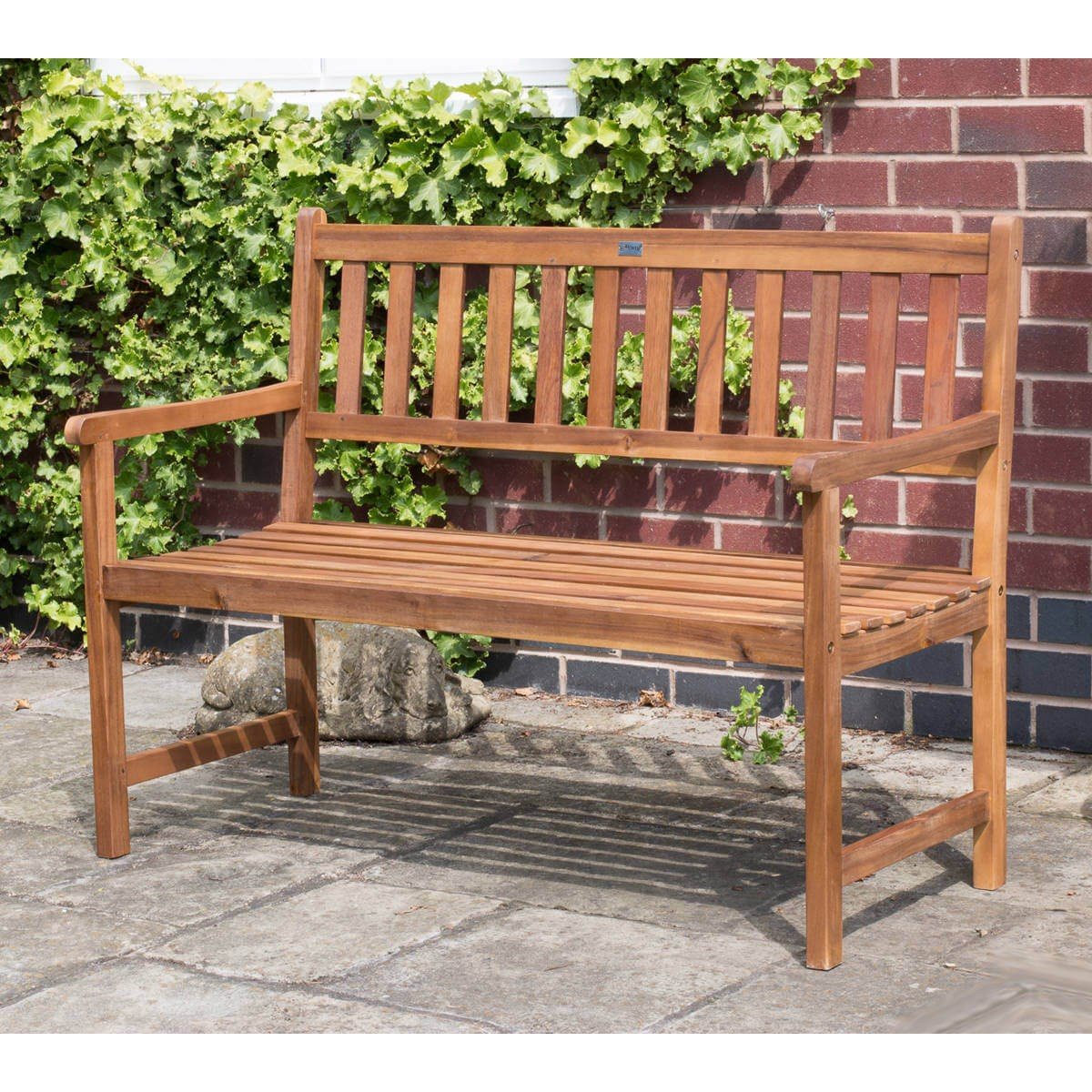 Acacia Hardwood 2-3 Seater Wooden Bench