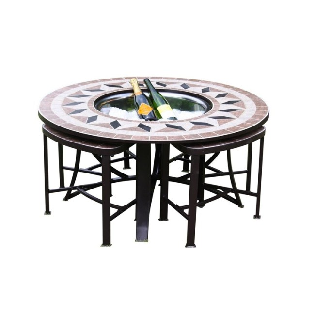 Garden Table And Chairs Fire Bowl Table Patio Set Patio Heater Barbeque Grill
