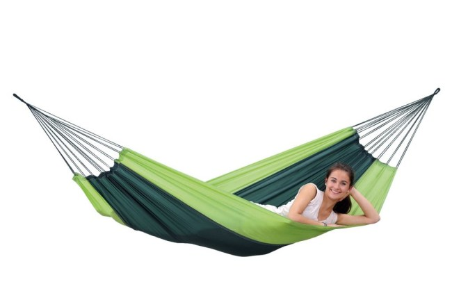 Amazonas Silk Travel Hammock Forest Green