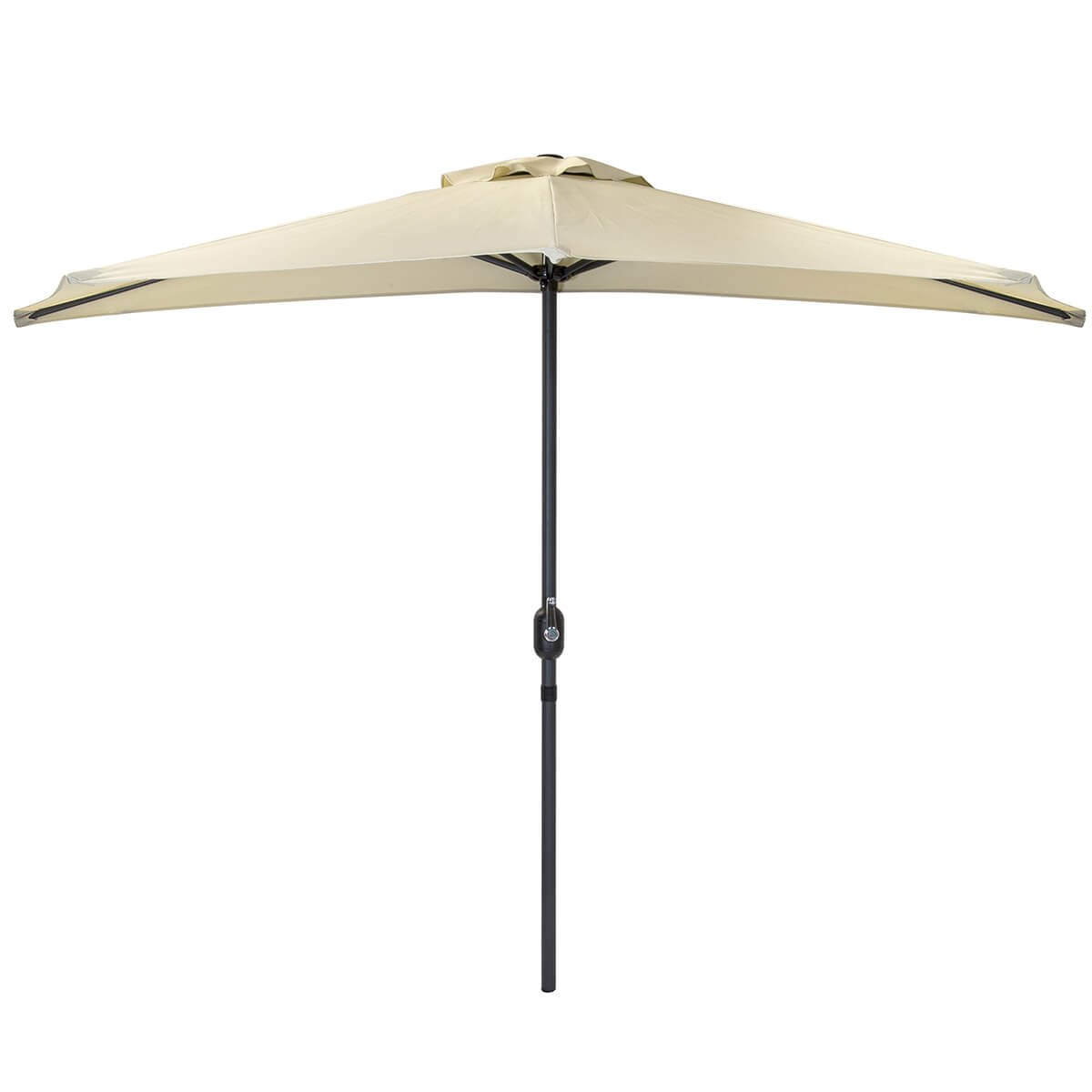 Balcony Umbrella Half Parasol for Against the Wall