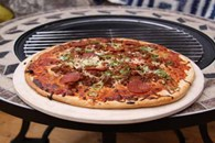 Barbecue Chimenea Pizza Stone