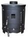 Barrel Multi Fuel Cast Iron Wood Burning Stove CE BS EN13240 Rated
