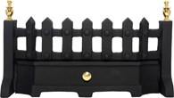Black and Brass Fret 16 or 18 Inch