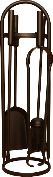 Black Modern Companion Set