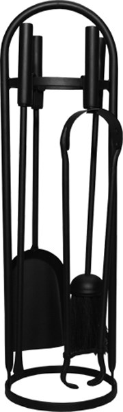 Black Modern Companion Set