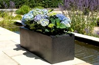 Black Rectangle Planter Various Sizes