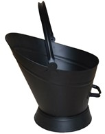 Black Waterloo Coal Scuttle