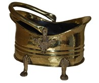 Brass Coal Bucket 2 Sizes
