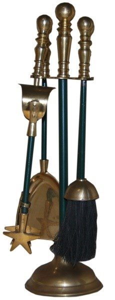 Brass Companion Set 5 Piece
