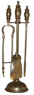 Brass Fire Side Companion Set Fireside Tools