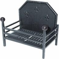 British Made Steel Fire Basket