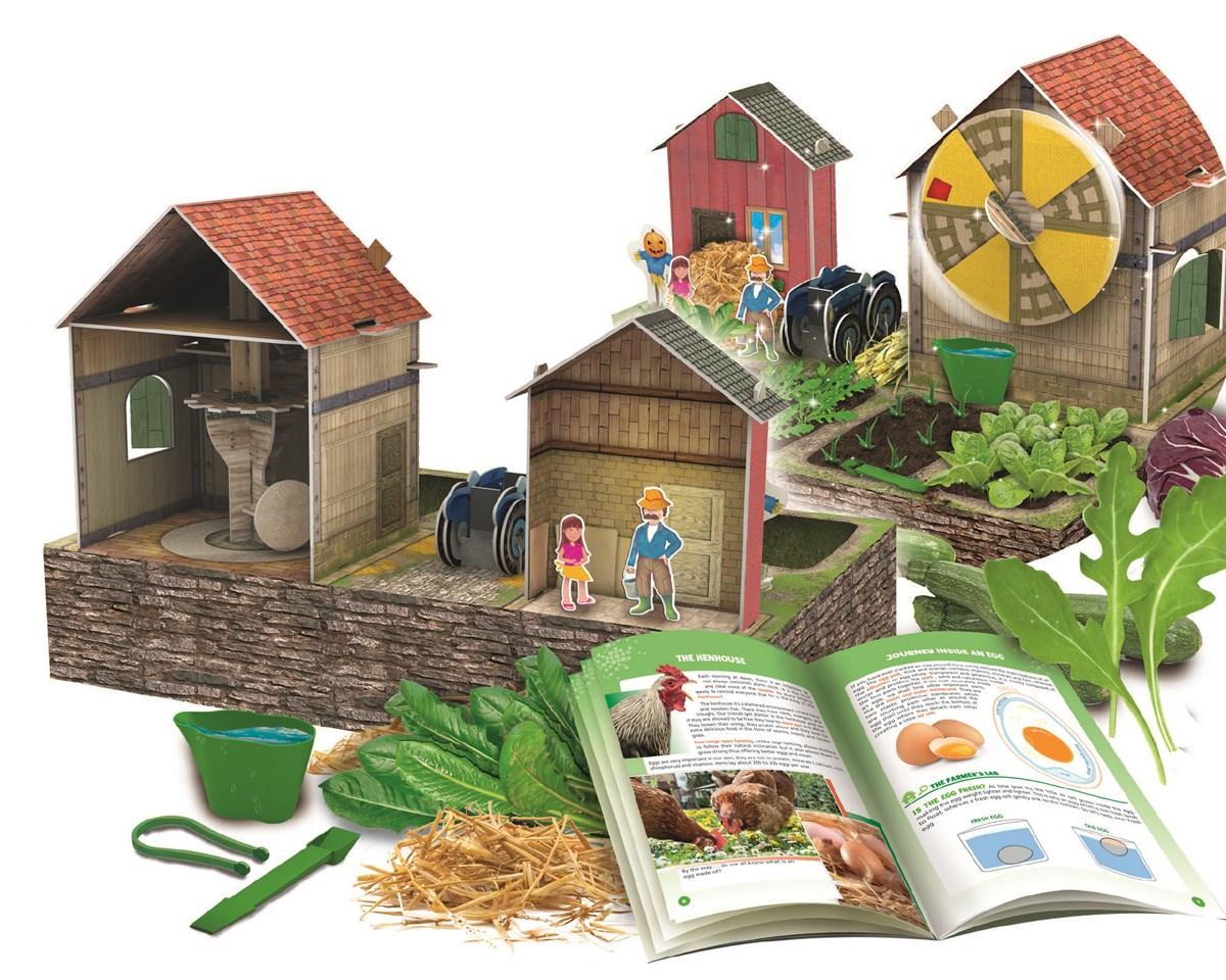 Build a 3D Farm Learning Farm with Seeds!