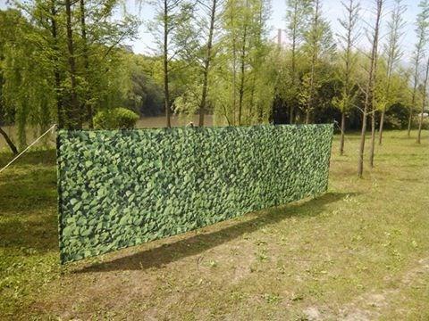 Camouflage Hedge Wind Break 4 Pole