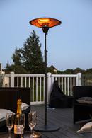 Carbon Fibre Free Standing Garden Heater