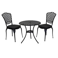 Cast Aluminium Bistro Set for Two