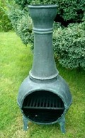 Cast Iron Chimenea with Grill