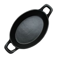 Cast Iron Cooking Dish Oval