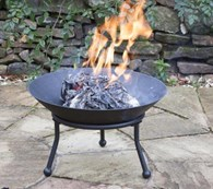 Cast Iron Fire Bowl Patio Heater