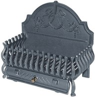 Cast Iron Fire Grate Dog Grate 21""