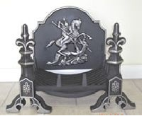 Cast Iron Fire Grate Fireplace Challenger Dog Grate Basket