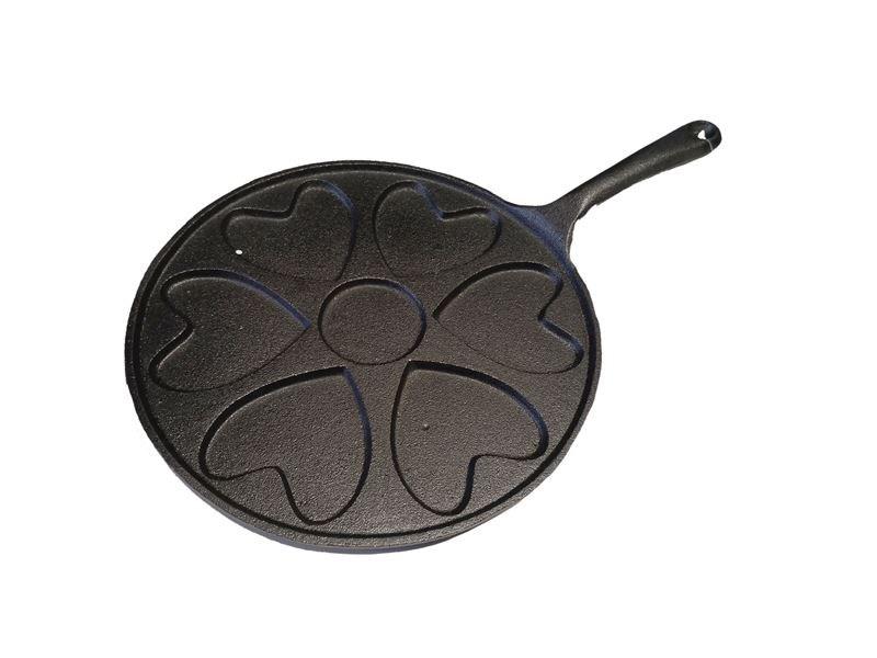 Cast Iron Heart Pan