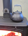 Cast Iron Humidifier Kettle Hearth Tea Pot