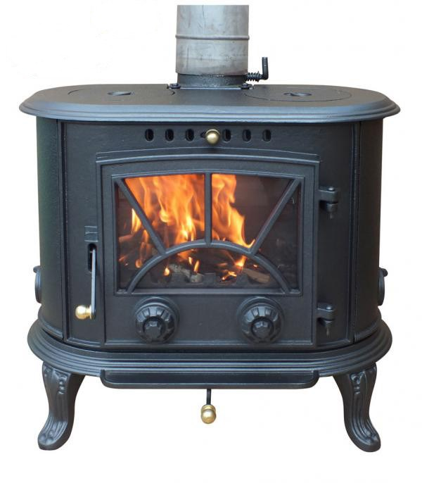 Multi Fuel Cast Iron Stove Wood Burning Stove Coal Stove
