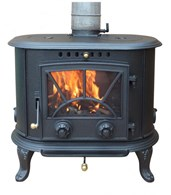 Cast Iron Multi Fuel Stove 8.33KW