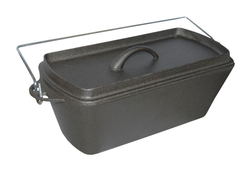 Cast Iron Stock Pot Dutch Oven Loaf Tin