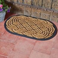 Celtic Ships Knot Door Mat
