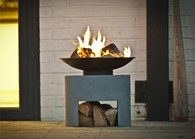 Cement Colour Fire Pit