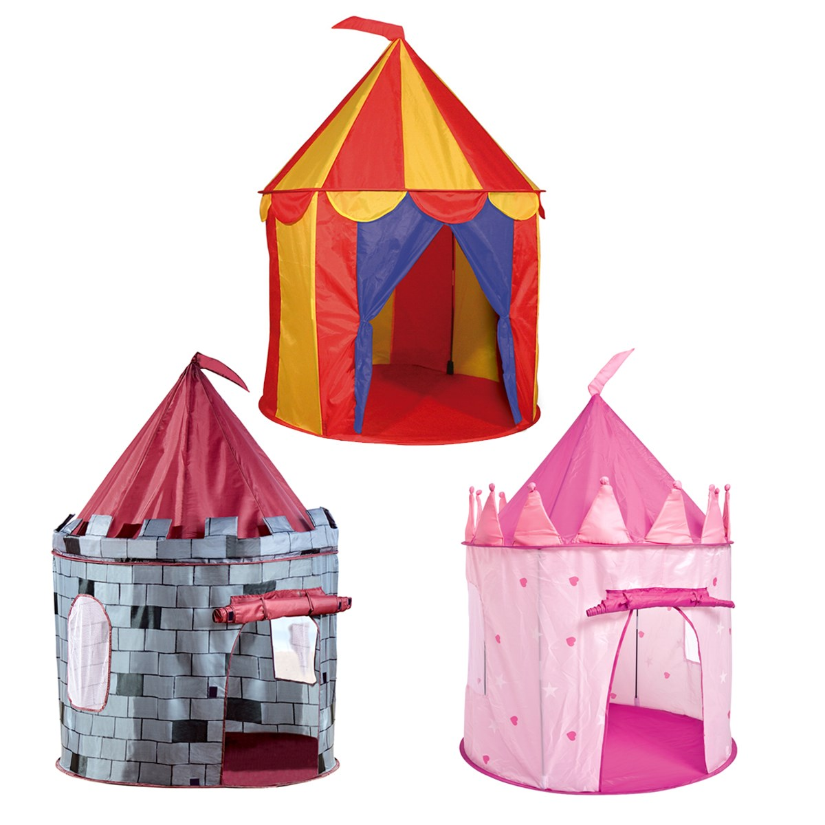 Childrens Play Tents Princess Knight or Circus