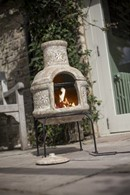 Chimenea and Barbeque In One