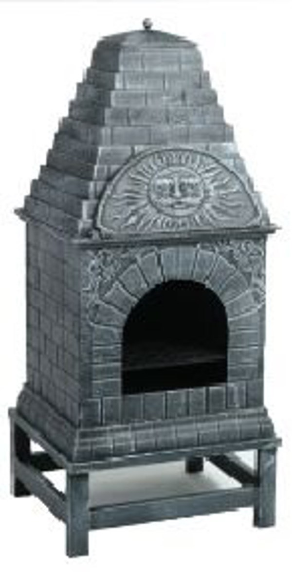 Cast Iron Chimenea and Oven in One