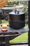 Chimenea Food Smoker BBQ