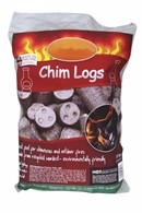 Chimenea Logs 10kg Bag Fast Lighting