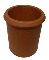 Clay Chimney Pot Straight Various Sizes