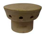 Clay Chimney Spigot Vent Buff