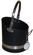 Coal Bucket Coal Hod Pewter Handles