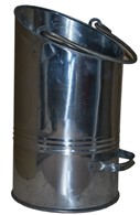 Coal Bucket Galvanized Coal Hod