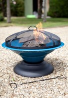 Coloured Fire Pit in Four Colours